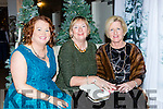 Monica Casey Ballyheigue, Noreen Buckley Faha and Mary Cronin Millstreet enjoying the Department of Justice Christmas party in the Killarney Oaks Hotel on Friday night