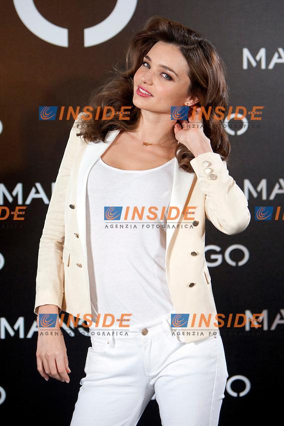 Miranda Kerr testimonial di Mango.Madrid 11/12/2012 Villamagna Hotel.Foto Caro Marin / Alterphotos / Insidefoto.ITALY ONLY