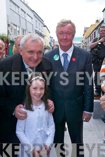 Bertie Ahern in Killarney