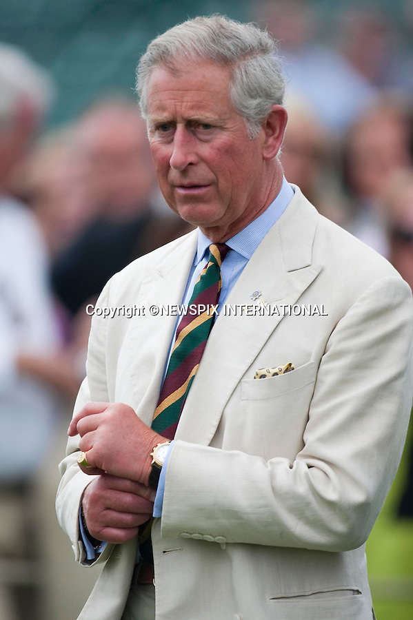 "Prince Charles.Cartier Polo 2010 at Guards Polo Club, Windsor_25/07/2010..Mandatory Photo Credit: ©Dias/Newspix International..**ALL FEES PAYABLE TO: ""NEWSPIX INTERNATIONAL""**..PHOTO CREDIT MANDATORY!!: NEWSPIX INTERNATIONAL(Failure to credit will incur a surcharge of 100% of reproduction fees)..IMMEDIATE CONFIRMATION OF USAGE REQUIRED:.Newspix International, 31 Chinnery Hill, Bishop's Stortford, ENGLAND CM23 3PS.Tel:+441279 324672  ; Fax: +441279656877.Mobile:  0777568 1153.e-mail: info@newspixinternational.co.uk"