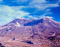 Mt. St. Helens from Johnston Ridge, Mt. St. Helens National Volcanic Monument, Washington, US, August 2004