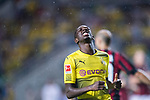 Borussia Dortmund Midfielder Ousmane Dembele reacts during the International Champions Cup 2017 match between AC Milan vs Borussia Dortmund at University Town Sports Centre Stadium on July 18, 2017 in Guangzhou, China. Photo by Marcio Rodrigo Machado / Power Sport Images