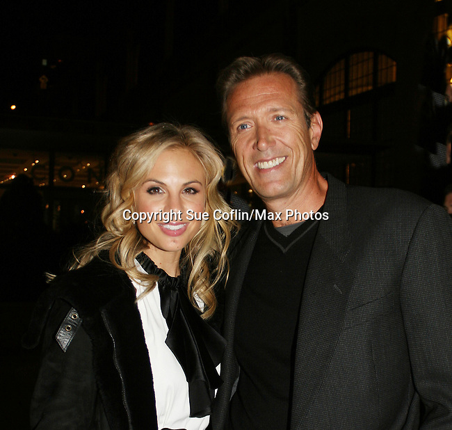 The View's Elisabeth Hasselbeck and  All My Children's Walt Willey at the ABC Daytime Casino Night on October 23, 2008 at Guastavinos, New York CIty, New York. (Photo by Sue Coflin/Max Photos)