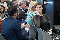 """Nova York (EUA), 23/09/2019 - Debate sobre as políticas ambientais do governo de Jair Bolsonaro -   Maria Paula atriz, apresentadora, psicóloga e escritora brasileira. É embaixadora da Rede Brasileira de Bancos de Leite Humano durante painel """"As Políticas Ambientais de Bolsonaro e o Futuro da Floresta Amazônica"""" no Puck Building em Nova York nos Estados Unidos nesta segunda-feira, 23.(Foto: William Volcov/Brazil Photo Press/Agencia O Globo) Mundo"""
