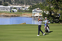 Rafa Cabrera-Bello (ESP) plays his 2nd shot on the 6th hole at Pebble Beach course during Friday's Round 2 of the 2018 AT&amp;T Pebble Beach Pro-Am, held over 3 courses Pebble Beach, Spyglass Hill and Monterey, California, USA. 9th February 2018.<br /> Picture: Eoin Clarke | Golffile<br /> <br /> <br /> All photos usage must carry mandatory copyright credit (&copy; Golffile | Eoin Clarke)