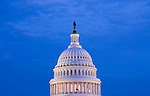 Washington DC; USA: The dome of the Capitol Building, legislative branch of the US government.Photo copyright Lee Foster Photo # 3-washdc82952