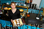 Eileen O'Connor in her new bakery and deli in Castleisland.