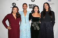 LOS ANGELES, CA - NOVEMBER 8: Eva Longoria, Zoe Saldana, Gina Rodriguez and Rosario Dawson at the Eva Longoria Foundation Dinner Gala honoring Zoe Saldana and Gina Rodriguez at The Four Seasons Beverly Hills in Los Angeles, California on November 8, 2018. Credit: Faye Sadou/MediaPunch