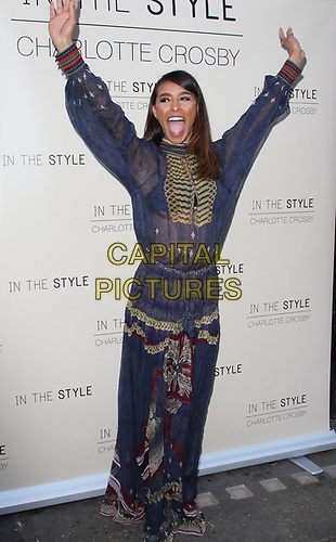 Melody Thornton at the Charlotte Crosby In The Style Launch Party at Nikki's Bar, Hoxton Square, London on July 4th 2019<br /> CAP/ROS<br /> ©ROS/Capital Pictures