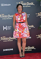 LOS ANGELES, CA. April 4, 2016. Actress Tamera Mowry at the world premiere of &quot;The Jungle Book&quot; at the El Capitan Theatre, Hollywood.<br /> Picture: Paul Smith / Featureflash
