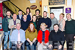 The staff from the Aran Sweater market who celebrated their Christmas party in Lord Kenmares restaurant on friday night front row l-r: John Kelleher, Geraldine Conan, Bernie Murhy, William Fleming. Back row: Chris Sambat, Pat Chambers, John Fleming, Ian O'Connor, Flora Patta, Jennifer O'Keeffe, Elena Vilialboy, Colin McCarthy, Padraig Mac Rodain, Isabel Barrett, and John Joe Murphy