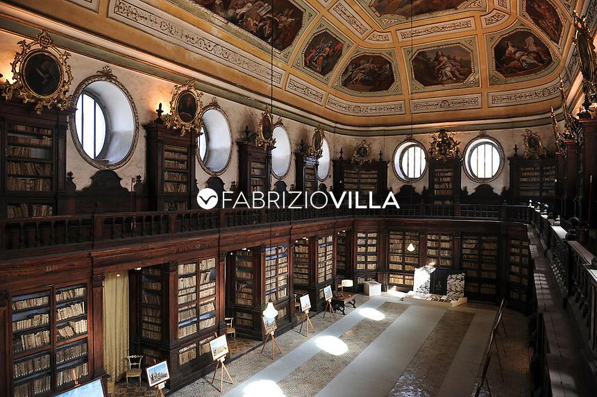 La Biblioteca Ursino Recupero di Catania.