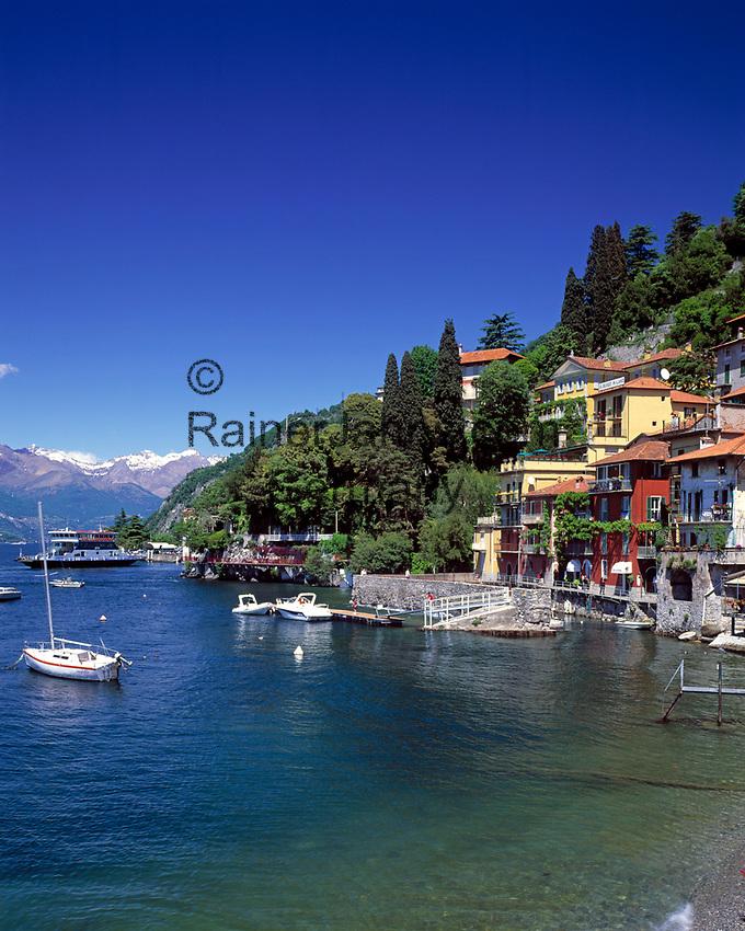 ITA, Italien, Lombardei, Comer See, Varenna: beliebter Urlaubsort    ITA, Italy, Lombardia, Lake Como, Varenna: famous holiday resort