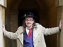 Kim Newman, critic, journalist and writer  at The Oxford Literary Festival at Christchurch College Oxford  . Credit Geraint Lewis