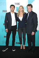 Joshua Jackson, Anna Torv and John Noble at the Fox 2012 Programming Presentation Post-Show Party at Wollman Rink in Central Park on May 14, 2012 in New York City. /NortePhoto.com