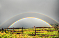 Colorado Gold - Dallas Divide DOUBLE RAINBOW - San Juan Mountains