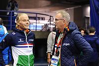 SPEEDSKATING: CALGARY: Olympic Oval, 03-12-2017, ISU World Cup, Koen Verweij (NED), Geert Kuiper, ©photo Martin de Jong