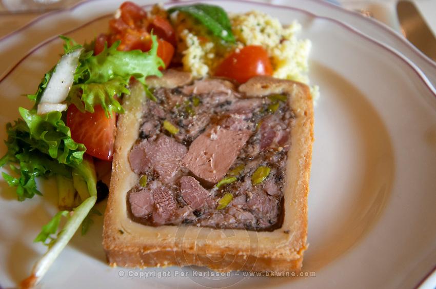 burgundian jambon persille parsley ham domaine comte senard aloxe-corton cote de beaune burgundy france