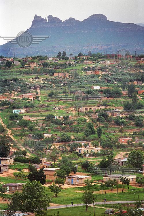 The QwaQwa territory. .