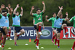 British & Irish Lions training session.Conor Murray taking part in the Lions training session in Wales...Vale Resort.15.05.13.©Steve Pope