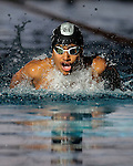 Makam Abhinav of United Action during the New Zealand Junior Swimming Championships, Owen G Glenn National Aquatic Centre, Auckland New Zealand. Sunday 21 February 2016 Photo: Simon Watts/www.bwmedia.co.nz
