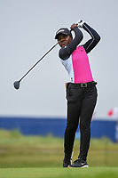 Mariah Stackhouse (USA) watches her tee shot on 2 during round 4 of the KPMG Women's PGA Championship, Hazeltine National, Chaska, Minnesota, USA. 6/23/2019.<br /> Picture: Golffile | Ken Murray<br /> <br /> <br /> All photo usage must carry mandatory copyright credit (© Golffile | Ken Murray)
