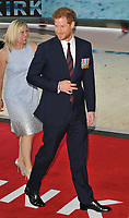 HRH Prince Harry at the &quot;Dunkirk&quot; world film premiere, Odeon Leicester Square cinema, Leicester Square, London, England, UK, on Thursday 13 July 2017.<br /> CAP/CAN<br /> &copy;CAN/Capital Pictures /MediaPunch ***NORTH AND SOUTH AMERICAS ONLY***