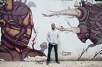 Carlos Alanis, grafitti artist, Mexico City
