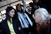 Presentati i nuovi autobus Atac per Roma, Virginia Raggi