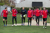 USMNT Training, November 9, 2016