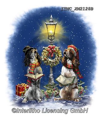 Marcello, CHRISTMAS ANIMALS, WEIHNACHTEN TIERE, NAVIDAD ANIMALES, paintings+++++,ITMCXM2128B,#xa#
