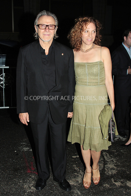 WWW.ACEPIXS.COM . . . . .  ....October 3 2009, New York City....Harvey Keitel and Daphna Kastner arriving at the 2009 New York Film Festival's screening of 'Precious' at Alice Tully Hall on October 3, 2009 in New York City.....Please byline: AJ Sokalner - ACEPIXS.COM.... *** ***..Ace Pictures, Inc:  ..(212) 243-8787 or (646) 769 0430..e-mail: picturedesk@acepixs.com..web: http://www.acepixs.com