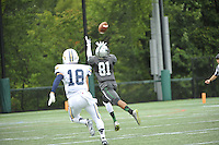 Stevenson University football hosted Lycoming in their home opener on Saturday afternoon at Mustang Stadium in Owings Mills, where they took a 38-14 victory over the Warriors.