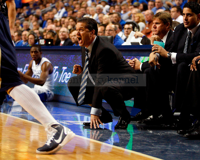 in the first half of UK's game aginst ETSU at Rupp Arena on  Friday Nov. 12 , 2010. Photo by Britney McIntosh | Staff