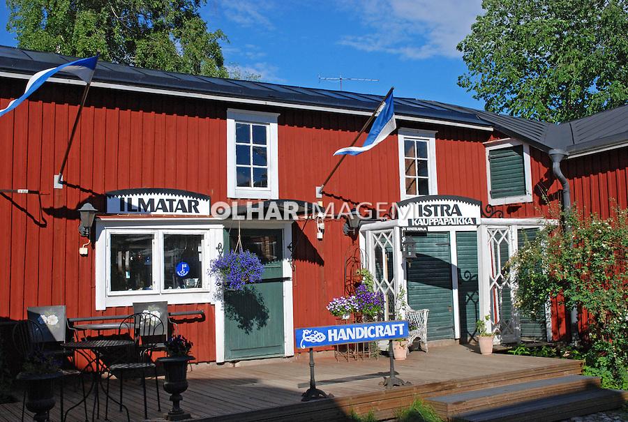 Loja de artesanato em Porvoo. Finlândia. 2007. Foto de Vinicius Romanini.