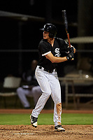 AZL White Sox Jonathan Allen (21) at bat during an Arizona League game against the AZL Indians Blue on July 2, 2019 at Camelback Ranch in Glendale, Arizona. The AZL Indians Blue defeated the AZL White Sox 10-8. (Zachary Lucy/Four Seam Images)