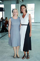 NEW YORK, NY - AUGUST 9: Senator Kirsten Gillibrand and Christy Turlington at #BlogHer18 Creators Summit in New York City on August 9, 2018. <br /> CAP/MPI99<br /> &copy;MPI99/Capital Pictures