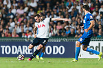 Tottenham Hotspur Forward Vincent Janssen (L) in action during the Friendly match between Kitchee SC and Tottenham Hotspur FC at Hong Kong Stadium on May 26, 2017 in So Kon Po, Hong Kong. Photo by Man yuen Li  / Power Sport Images
