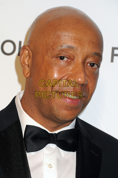 Russell Simmons.21st Annual Elton John Academy Awards Viewing Party held at West Hollywood Park, West Hollywood, California, USA..February 24th, 2013.oscars headshot portrait black white bow tie tuxedo shirt .CAP/ADM/BP.©Byron Purvis/AdMedia/Capital Pictures.
