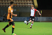 3rd October 2017, The Abbey Stadium, Cambridge, England; Football League Trophy Group stage, Cambridge United versus Southampton U21; Will Wood of Southampton controls the ball in midfield