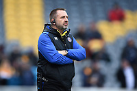 Bath Rugby Kit Manager Steve Middleton looks on. Gallagher Premiership match, between Worcester Warriors and Bath Rugby on January 5, 2019 at Sixways Stadium in Worcester, England. Photo by: Patrick Khachfe / Onside Images