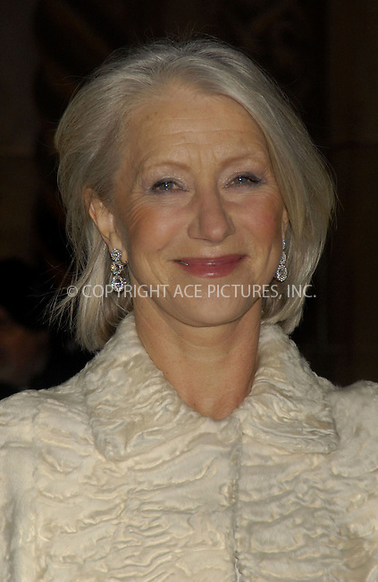 WWW.ACEPIXS.COM . . . . . ....December 9, 2007, New York City....Helen Mirren attends the 2006 National Board Of Review Awards Gala at Cipriani... ..Please byline: KRISTIN CALLAHAN - ACEPIXS.COM.. . . . . . ..Ace Pictures, Inc:  ..(212) 243-8787 or (646) 679 0430..e-mail: picturedesk@acepixs.com..web: http://www.acepixs.com