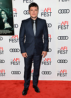 Josh Hutcherson at the AFI Fest premiere for &quot;The Disaster Artist&quot; at the TCL Chinese Theatre. Los Angeles, USA 12 November  2017<br /> Picture: Paul Smith/Featureflash/SilverHub 0208 004 5359 sales@silverhubmedia.com