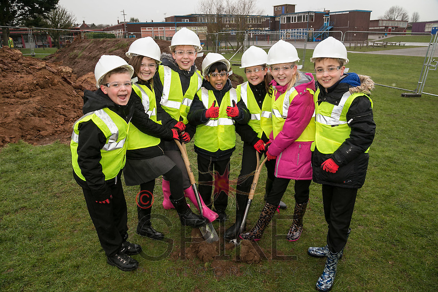 Pictured from left are pupils Casey Smith, Giorgia Hall, Libby Armitage, Arman Choudhury, Ellie Simpson-Eyre, Lily Mariott and McKenzee Bennett-Ross