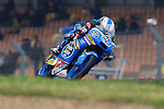 Qualifying practices in Le Mans during the world championship 2015<br /> jorge navarro