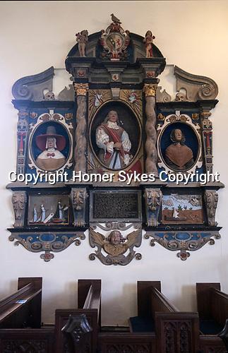 Sir John Somerset Somerset's memorial Brent Knoll Somerset UK St Michael's Church. He died in 1663