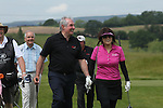 ISPS Handa Wales Open 2012.Gareth Edwards with Midori Miyazaki from ISPS during the Pro-Am...30.05.12.©Steve Pope