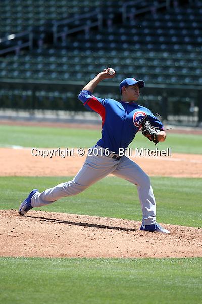 Jose Albertos - Chicago Cubs 2016 extended spring training (Bill Mitchell)