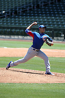 Jose Albertos - Chicago Cubs 2016 extended spring training (Bill Mitchell)