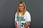 DENTON January 11: Mean Green Softball head short and posed Action at Mean Green Olympic Village in Denton on January 11, 2019 in Denton, Texas (Photo by Rick Yeatts )